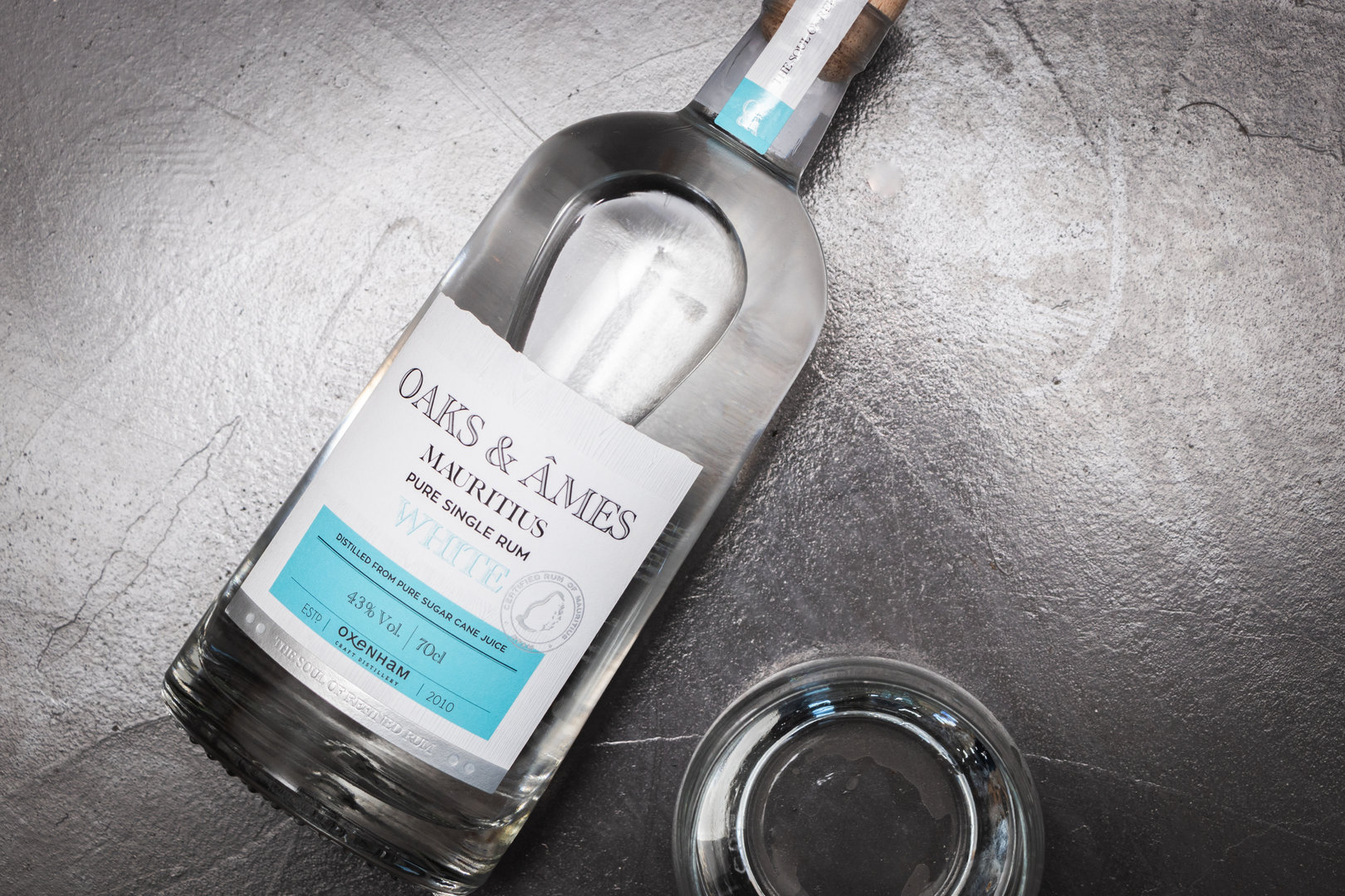 Oaks & Ames White Rum