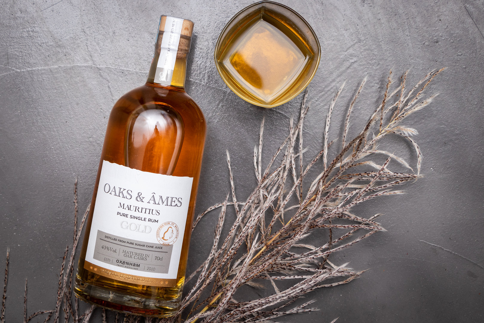 Oaks & Ames Gold Rum